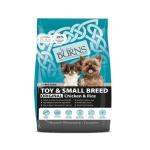 Burns 小型成犬及老犬雞肉糙米配方 Toy & Small Breed Chicken & Rice 2kg 狗糧 Burns 寵物用品速遞