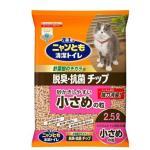 花王-木貓砂-日本花王脫臭抗菌小粒木貓砂-2_5L-粉紅-木貓砂-寵物用品速遞