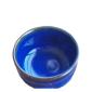 酒品配件-Accessories-日本美濃燒-平丸清酒杯-藍色-2本入-酒