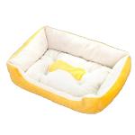 寵物床 防滑厚身 M碼 70 (黃) (貓犬用) 貓犬用日常用品 床類用品 寵物用品速遞