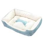 寵物床 防滑厚身 M碼 70 (藍) (貓犬用) 貓犬用日常用品 床類用品 寵物用品速遞