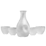 日式磨砂清酒瓶及杯套裝 酒品配件 Accessories 清酒杯 清酒十四代獺祭專家