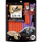 Sheba-日本Sheba-鮮魚唧唧棒-吞拿魚拼吞拿海鮮-12g-20本入-Sheba-寵物用品速遞