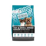 Burns 小型成犬及老犬雞肉糙米配方 Toy & Small Breed Chicken & Rice 6kg 狗糧 Burns 寵物用品速遞
