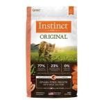 Instinct本能 無穀物三文魚貓糧 Original Grain-Free Recipe with Real Salmon 4.5lb (658764) 貓糧 Instinct 本能 寵物用品速遞