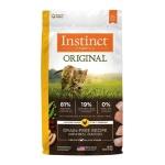 Instinct本能 無穀物雞肉貓糧 Original Grain-Free Recipe with Real Chicken 11lb (658566) 貓糧 Instinct 本能 寵物用品速遞