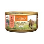 Instinct本能 ORIGINAL 無穀物三文魚配方貓罐頭 Salmon Formula 5.5oz (705932) 貓罐頭 貓濕糧 Instinct 本能 寵物用品速遞