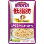 CIAO 狗濕糧 日本低脂肪袋裝濕糧 雞胸肉及地瓜 RD-06 80g (紫) 狗罐頭 狗濕糧 CIAO INABA 寵物用品速遞