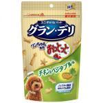 日本unicharm 狗狗魚仔餅 雞肉及蔬菜味 50g (綠) 狗小食 其他 寵物用品速遞