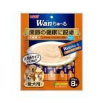 日本INABA狗狗肉泥餐包 關節健康配慮 雞肉及雞軟骨肉醬 160g (橙) (TDS-11) 狗罐頭 狗濕糧 CIAO INABA 寵物用品速遞