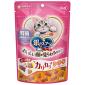 unicharm消臭大師-日本unicharm-三星銀匙貓脆餅-腎臓健康配方-海鮮味-60g-桃紅令-Unicharm-三星銀匙