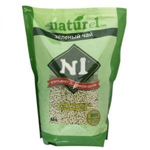 N1-naturel-豆腐貓砂-N1-naturel-天然玉米豆腐貓砂-綠茶味-4_5L-豆腐貓砂-豆乳貓砂-寵物用品速遞