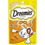 日本Dreamies 護齒夾心酥 奶酪味 60g (橙) 貓小食 Dreamies 寵物用品速遞
