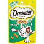 日本Dreamies 護齒夾心酥 Mix海鮮口味 60g (綠) 貓小食 Dreamies 寵物用品速遞