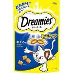 日本Dreamies 護齒夾心酥 毛玉配慮金槍魚片味 60g (深藍) 貓小食 Dreamies 寵物用品速遞