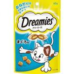 日本Dreamies 護齒夾心酥 金槍魚 60g (淺藍) 貓小食 Dreamies 寵物用品速遞