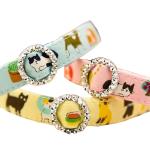 日本和風可愛貓圖片 貓貓頸帶 L碼 (顏色隨機) 貓貓 貓咪飾物 寵物用品速遞