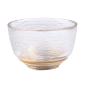 酒品配件-Accessories-日式加厚錘目紋清酒杯-2個入-雙線紋底金邊-清酒杯