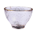 日式加厚錘目紋清酒杯 2個入 金邊企口 酒品配件 Accessories 清酒杯 清酒十四代獺祭專家