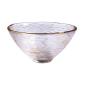 酒品配件-Accessories-日式加厚錘目紋清酒杯-2個入-波點金斗笠-清酒杯