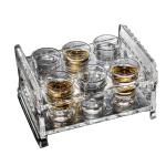 水晶玻璃 烈酒燒酒杯套裝 35ml 酒品配件 Accessories 酒杯/玻璃杯 清酒十四代獺祭專家