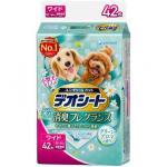 日本unicharm 柔軟香氛超除臭 田園清香味 寵物尿墊 狗尿墊 狗尿片 [60*44 XL碼 42枚入] 狗狗 狗尿墊 寵物用品速遞