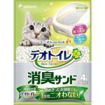 球砂 日本unicharm消臭大師消臭抗菌矽膠貓砂球砂 4L 貓砂 球砂 寵物用品速遞