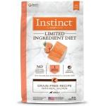 Instinct本能 單一蛋白系列 三文魚狗糧 Limited Ingredient Diet Grain-Free Recipe with Real Salmon 4lb (658795) 狗糧 Instinct 本能 寵物用品速遞