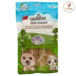 GRANDEE 香港製造 天然風乾小食 純魚肉片 50g (貓犬用) (GD/29) 貓小食 GRANDEE 寵物用品速遞