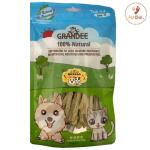 GRANDEE 香港製造 天然風乾小食 莧菜魚肉條 50g (GD/13-50) 貓犬用) 貓小食 GRANDEE 寵物用品速遞