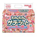 狗尿墊-日本P_one-Wanwan-Sarah-寵物尿墊-狗尿墊-狗尿片-44x59-M碼-50枚入-粉紅-狗狗-寵物用品速遞