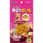 日本Sunrise 狗狗一口 高纖健腸番薯零食 100g (桃紅) 狗小食 其他 寵物用品速遞