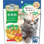 日本COMBO 二合一健康貓零食 低脂健康維持配方 42g (綠) 貓小食 COMBO 寵物用品速遞