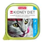 BEAPHAR KIDNEY DIET腎臟保健配方貓罐頭三文魚 100g (藍色) (13377) 貓罐頭 貓濕糧 BEAPHAR KIDNEY DIET 寵物用品速遞