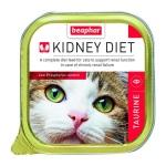 BEAPHAR KIDNEY DIET 腎臟保健配方貓罐頭牛黃酸100g (紅色) (13376) 貓罐頭 貓濕糧 BEAPHAR KIDNEY DIET 寵物用品速遞