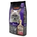 Leonardo 天然老貓糧 (雞肉+鴨肉) 7.5KG (紫色) (LNS/7.5) 貓糧 Leonardo 德尼奧 寵物用品速遞