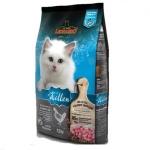 Leonardo 天然幼貓糧 家禽配方 (雞肉+火雞+鴨肉) 2KG (藍色) (LN/K2) 貓糧 Leonardo 德尼奧 寵物用品速遞