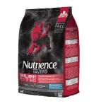 Nutrience SUBZERO 狗糧 凍乾脫水鮮豬肝+無穀物紅肉及海魚小型犬配方 SMALL BREED PRAIRIE RED D6215 11lbs (5kg) 紅黑 狗糧 Nutrience 寵物用品速遞