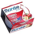 Monge Fruits 貓罐頭 吞拿魚蘋果 80g (MO3284) 貓罐頭 貓濕糧 Monge 寵物用品速遞
