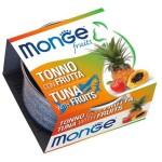 Monge Fruits 貓罐頭 吞拿魚雜果 80g (MO3314) 貓罐頭 貓濕糧 Monge 寵物用品速遞
