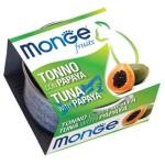 Monge Fruits 貓罐頭 吞拿魚木瓜 80g (MO3260) 貓罐頭 貓濕糧 Monge 寵物用品速遞