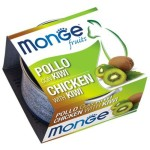 Monge Fruits 貓罐頭 雞肉奇異果 80g (MO3369) 貓罐頭 貓濕糧 Monge 寵物用品速遞