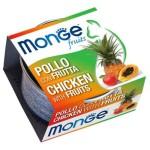 Monge Fruits 貓罐頭 雞肉雜果 80g (MO3376) 貓罐頭 貓濕糧 Monge 寵物用品速遞