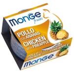 Monge Fruits 貓罐頭 雞肉菠蘿 80g (MO3338) 貓罐頭 貓濕糧 Monge 寵物用品速遞