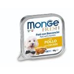 狗罐頭-狗濕糧-Monge-Fresh-狗餐盒-雞肉-100g-MO3062-Monge-寵物用品速遞