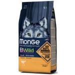 狗糧-Monge-Bwild-狗糧-野生肉類蛋白質成犬配方-鴕鳥肉-15kg-MO6021-Monge-寵物用品速遞