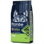 狗糧-Monge-Bwild-狗糧-野生肉類蛋白質成犬配方-豬肉-2kg-MO1808-Monge-寵物用品速遞