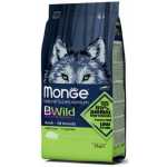 狗糧-Monge-Bwild-狗糧-野生肉類蛋白質成犬配方-豬肉-15kg-MO6038-Monge-寵物用品速遞