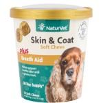 狗狗保健用品-NaturVet天然寶-皮毛健康營養保健品-70粒-犬用-N3689-營養保充劑-寵物用品速遞