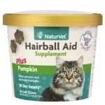 貓咪保健用品-NaturVet天然寶-吐毛粒-60粒-貓用-N3646-貓咪去毛球-寵物用品速遞